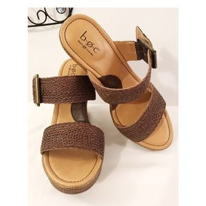 EUC B•O•C by Born Concepts Wedge Sandals